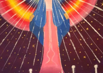 vierge rayonnante